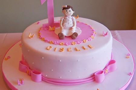 1st Birthday Cake For Girl Birthday Cake Cake Ideas by Prayfacenet
