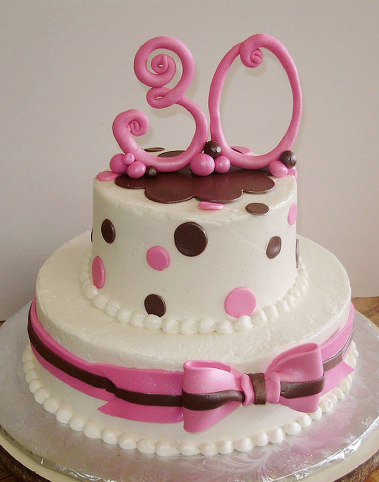 30th Birthday Cakes For Females Picture in Birthday Cake