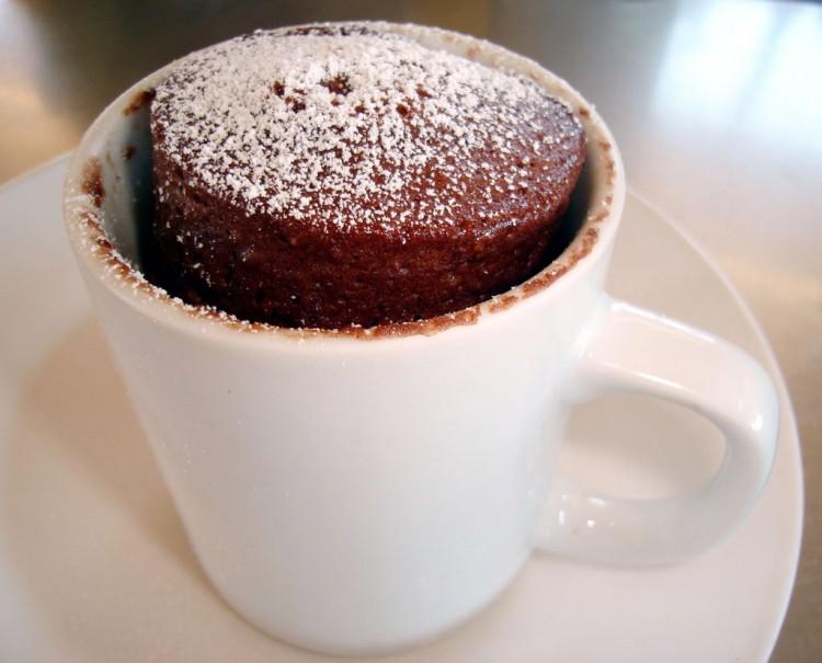 5 Minute Xocai Chocolate Mug Cake Picture in Chocolate Cake