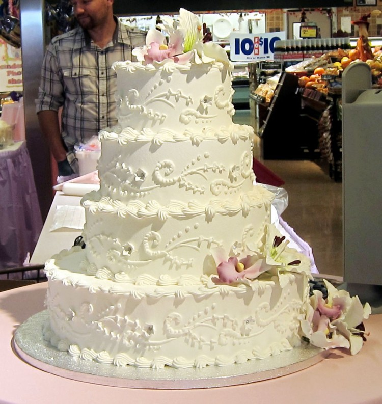 Albertsons Bakery Wedding Cakes Inspiration Picture in Wedding Cake
