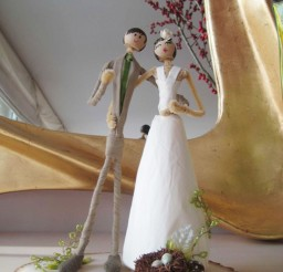 1024x1365px Austin Wedding Cake Toppers Picture in Wedding Cake