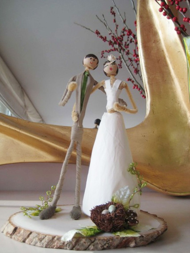 Austin Wedding Cake Toppers Picture in Wedding Cake