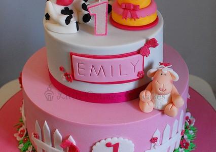 Birthday Cake Images Baby ~ Baby girl 1st birthday cake birthday cake cake ideas by prayface.net