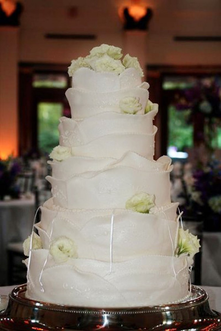 Baton Rouge Wedding Cakes Design 1 Picture in Wedding Cake
