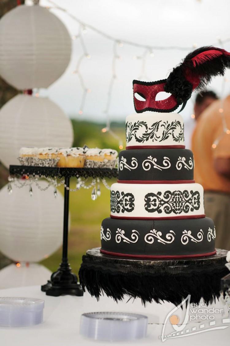 Baton Rouge Wedding Cakes Design 7 Picture in Wedding Cake