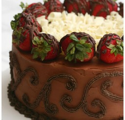 1024x1266px Beattys Chocolate Strawberry Cake Picture in Chocolate Cake