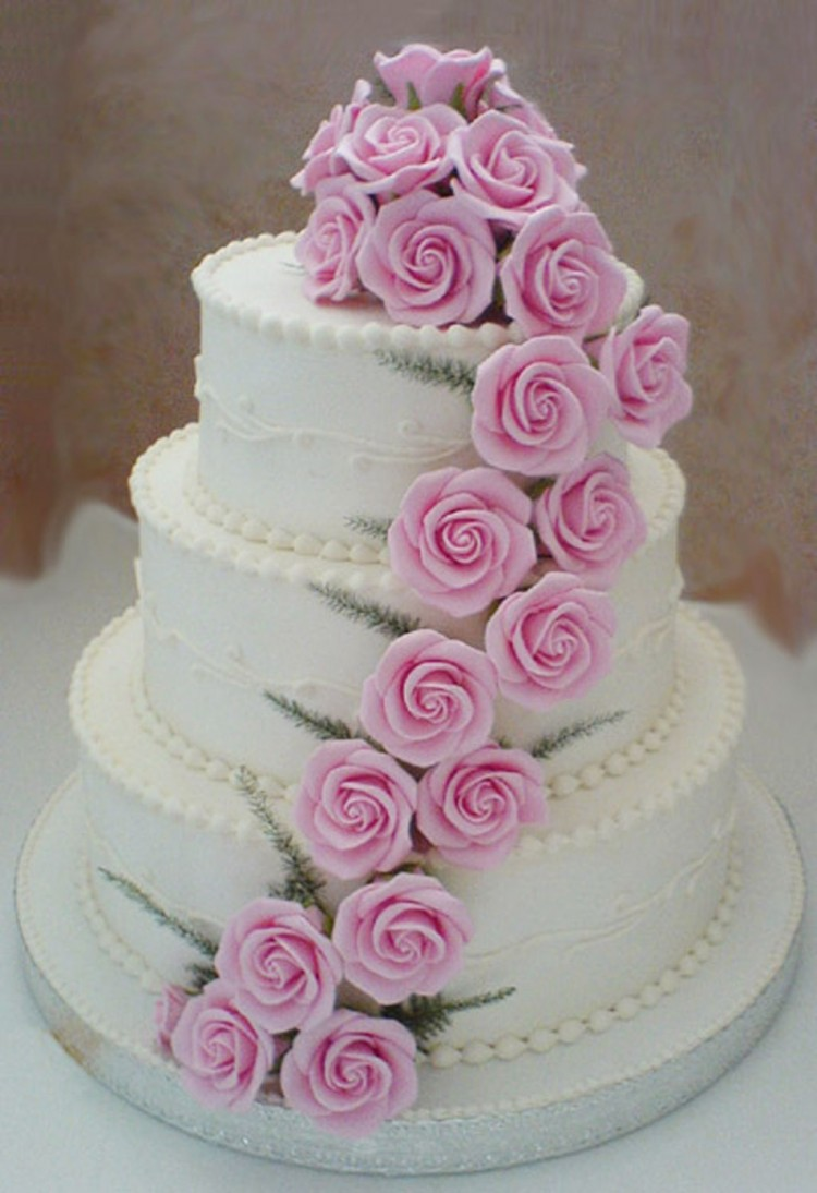 Beautiful Wedding Cakes Planner Wedding Picture in Wedding Cake
