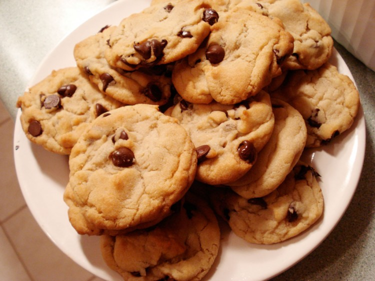 Best Chocolate Chip Cookie Picture in Chocolate Cake