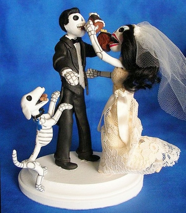 Best Unique Wedding Cake Toppers Picture in Wedding Cake