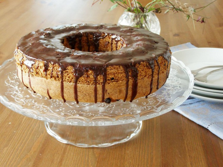 Chocolate Chip Sour Cream Bundt Cake Picture in Chocolate Cake