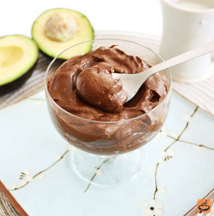 Chocolate Avocado Pudding Recipe Picture in Chocolate Cake