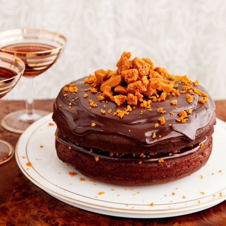Chocolate And Honeycomb Torte Recipe Picture in Chocolate Cake