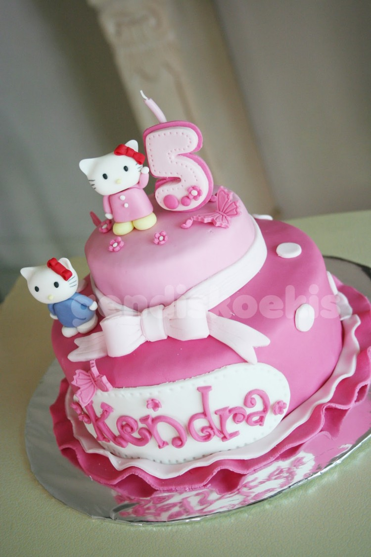 Pictures Of Hello Kitty Birthday Cakes Picture in Birthday Cake