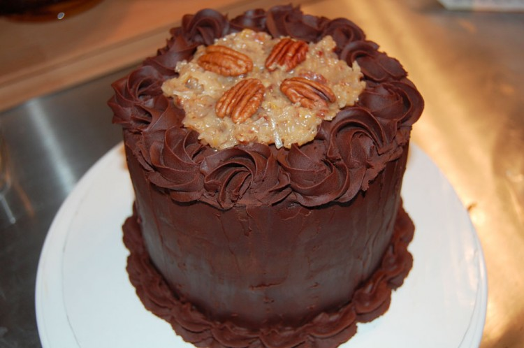Alton Brown German Chocolate Cake Picture in Chocolate Cake