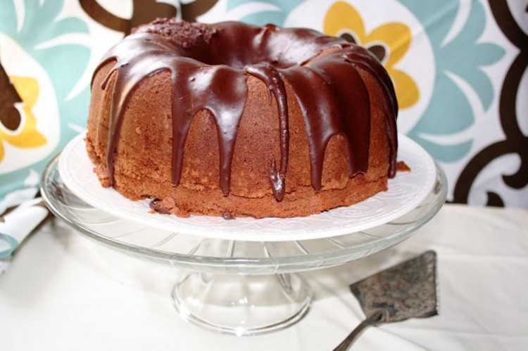 Alton Brown Chocolate Pound Cake Picture in Chocolate Cake