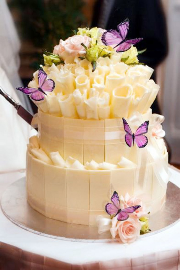 Best Butterfly Wedding Cake Toppers Picture in Wedding Cake