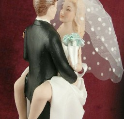 1024x1463px Biracial Sexy Wedding Cake Toppers Picture in Wedding Cake