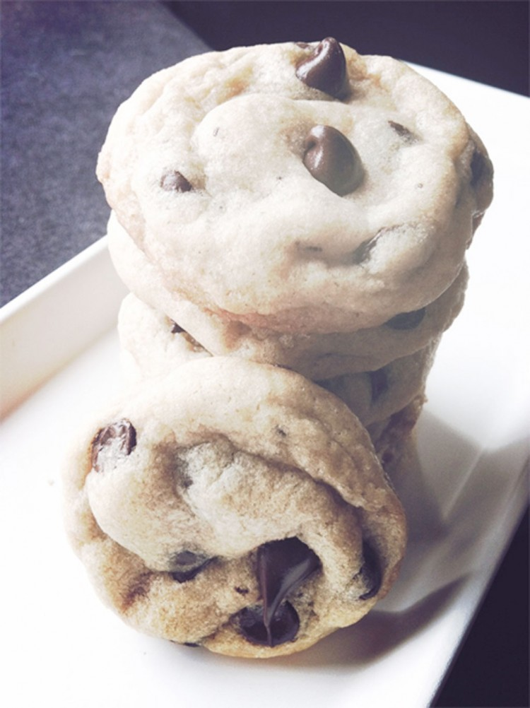Chewy Chocolate Chip Cookies Picture in Chocolate Cake