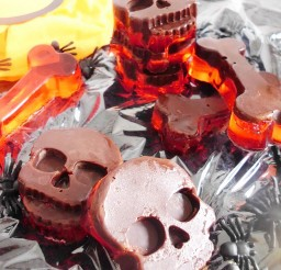 1024x1153px Chocolate And Jello Halloween Candy Picture in Chocolate Cake