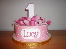 1024x768px Girls 1st Birthday Cake Picture in Birthday Cake