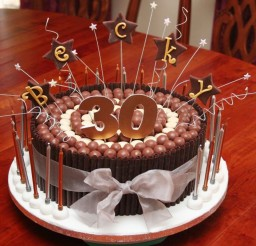 1024x862px 30th Birthday Cakes For Women You Love Picture in Birthday Cake