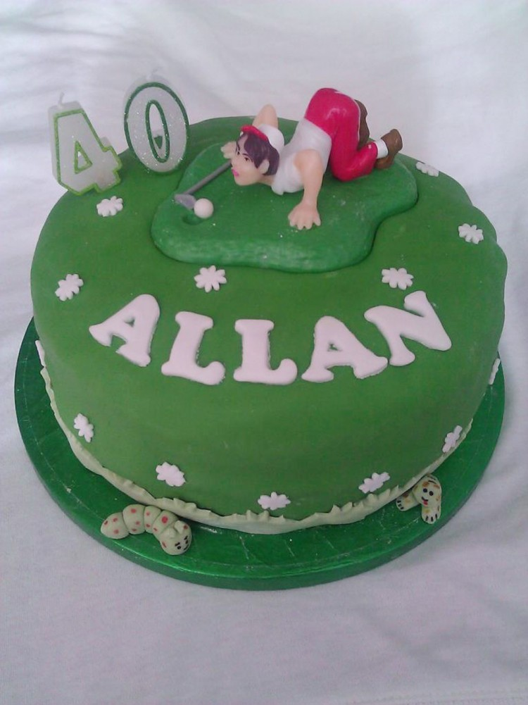 40th Birthday Cake Ideas For Men 4 Picture in Birthday Cake