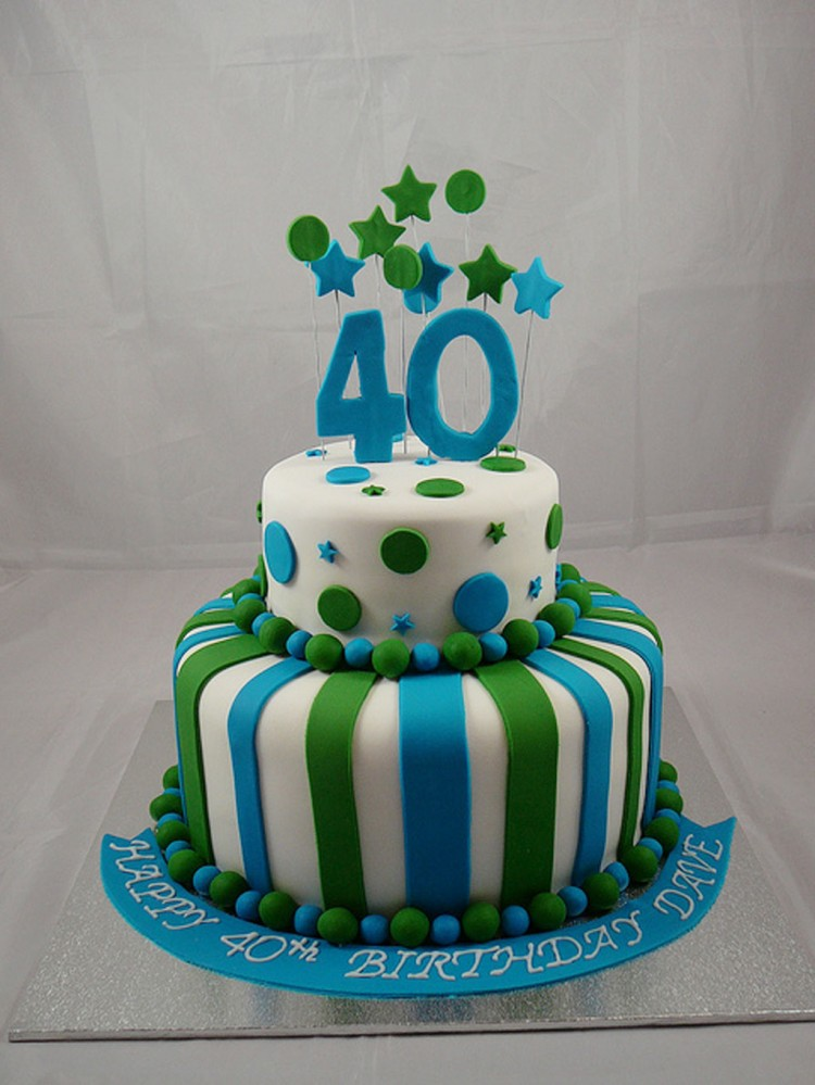 Cake Design For Men : 40th Birthday Cake Pictures For Men Birthday Cake - Cake ...