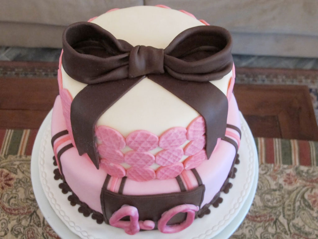 40th Birthday Cakes For Ladies Birthday Cake Cake Ideas by
