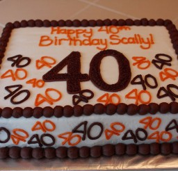 1024x683px 40th Birthday Cakes For Men Picture in Birthday Cake