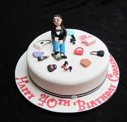 1024x768px 40th Birthday Cakes For Women Picture in Birthday Cake