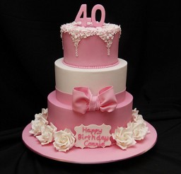 1024x1535px 40th Birthday Cakes Recipe Picture in Birthday Cake