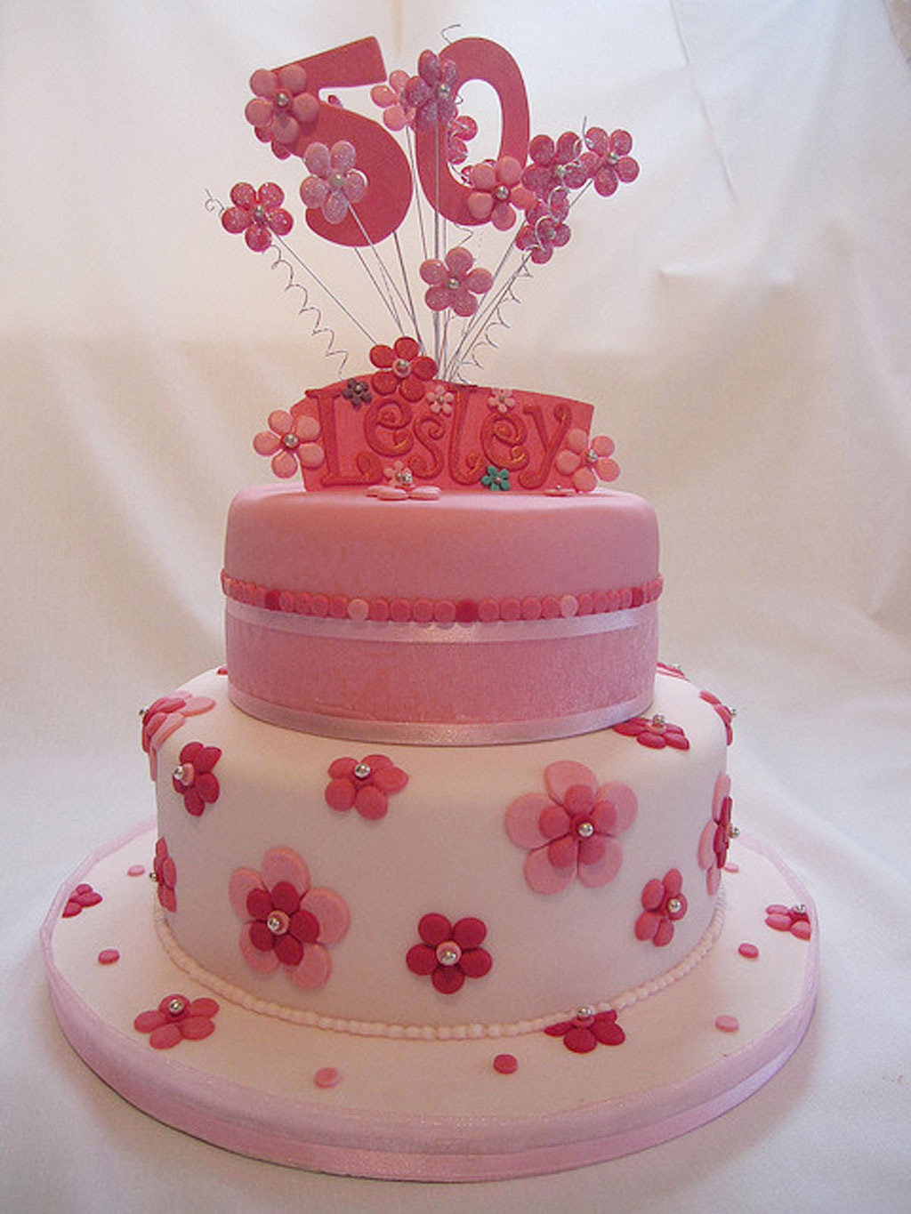 Cake Designs For  Year Old Woman