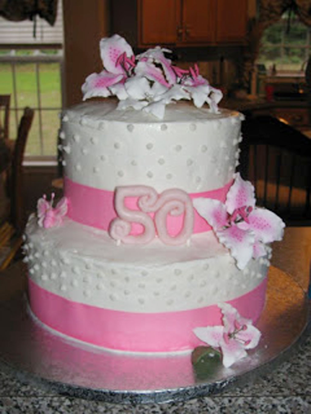 50th Birthday Cakes For Woman Birthday Cake Cake Ideas by