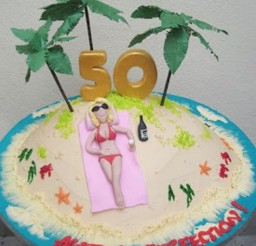 1024x1192px 50th Birthday Cakes For Women Uk Picture in Birthday Cake
