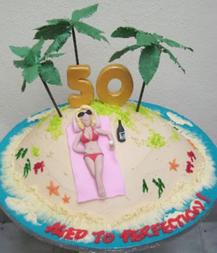 50th Birthday Cakes For Women Uk Picture in Birthday Cake