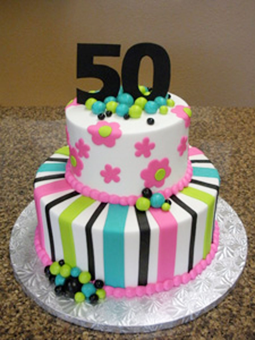 Cake Ideas For Female Birthday : 50th Birthday Cakes Pictures For Women Birthday Cake ...