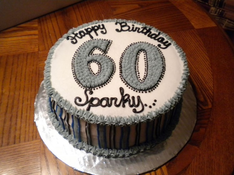 60th Birthday Cake Ideas For Men Picture in Birthday Cake