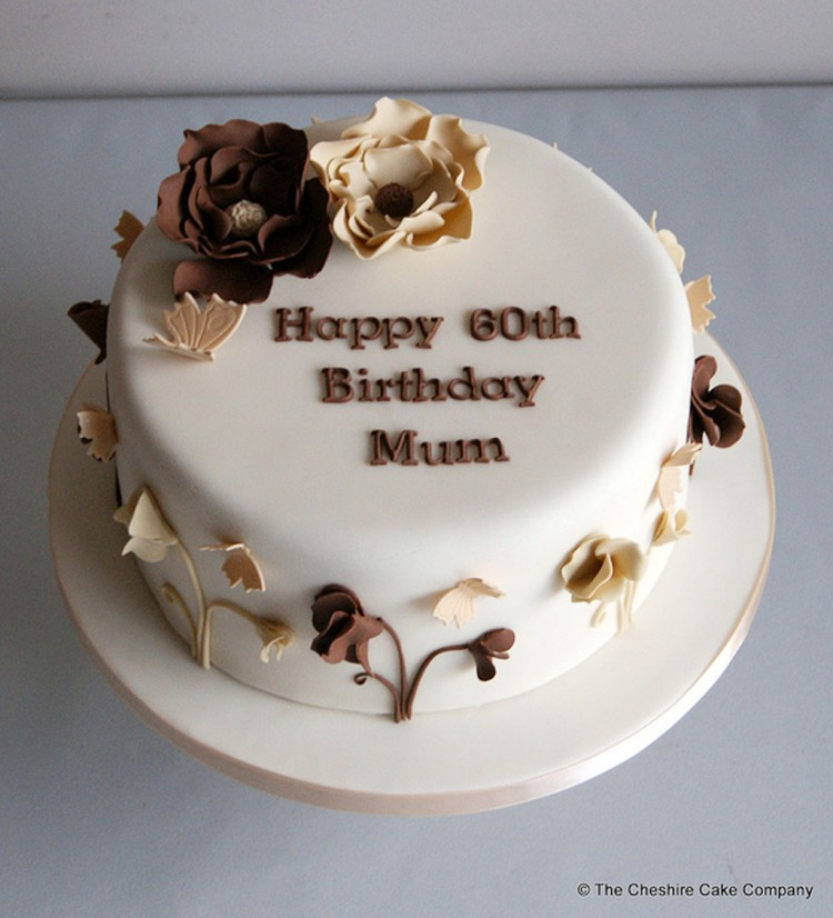 Cake Decorations For Mother S Birthday : 60th Birthday Cake Ideas For Mom Birthday Cake - Cake ...
