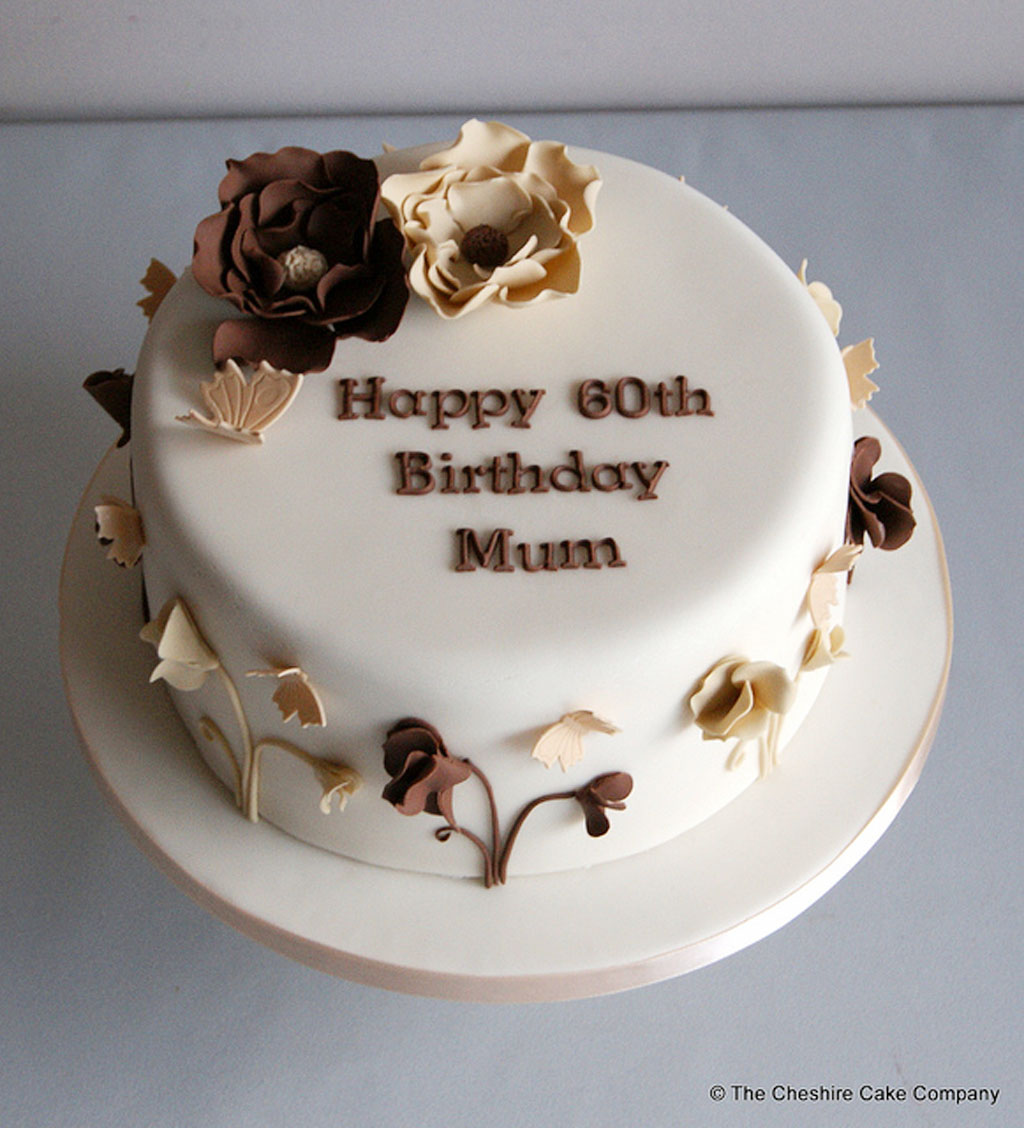 60th Birthday Cake Ideas For Mom Birthday Cake Cake