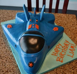 1024x1280px Awesome Fighter Jet Birthday Cake Picture in Birthday Cake