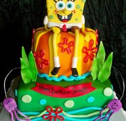 1024x1365px Best Spongebob Birthday Cake Picture in Birthday Cake