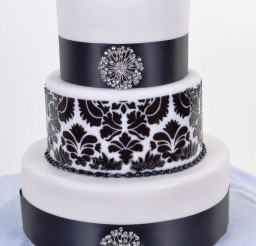 1024x1243px Black White Wedding Cakes Picture in Wedding Cake