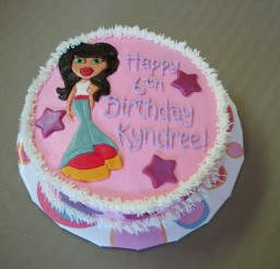 1024x856px Bratz Birthday Cakes For Kids Picture in Birthday Cake