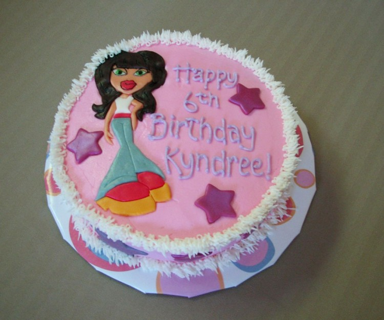 Bratz Birthday Cakes For Kids Picture in Birthday Cake