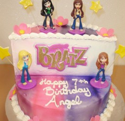 1024x1285px Bratz Birthday Cake Designs Picture in Birthday Cake