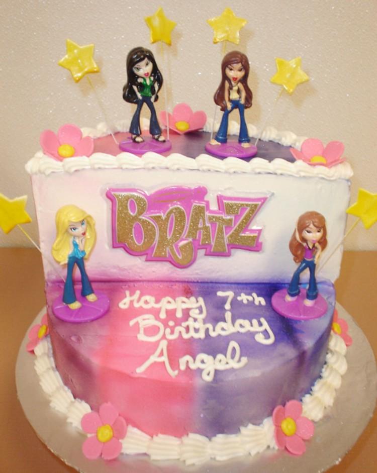 Bratz Birthday Cake Designs Picture in Birthday Cake