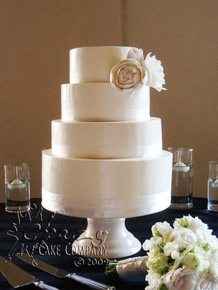 Buttercream Wedding Cake Designs Picture in Wedding Cake