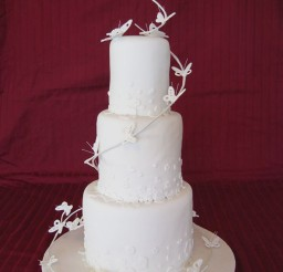 1024x1365px Butterfly Wedding Cake Idea Picture in Wedding Cake
