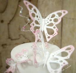 1024x1346px Butterfly Wedding Cake Topper Picture in Wedding Cake