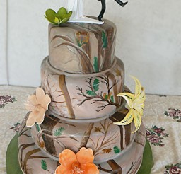 1024x1280px Camouflage Wedding Cake Ideas Picture in Wedding Cake